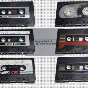 マクセルUD(maxellカセットテープ)