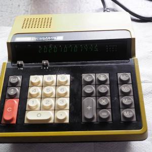 久しぶりにレトロ電卓 RICOMAC STUDENT-12