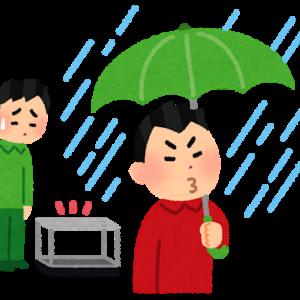 盗まれた長傘のことを思い出します