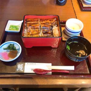 大阪上本町の江戸川で期間限定メニューのうな重を頂いてきました