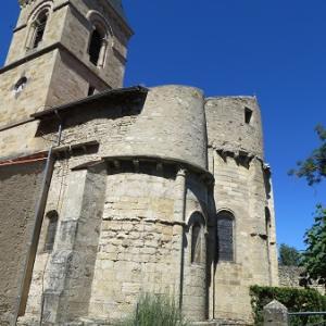 キラキラなフレスコに囲まれる教会(ジェザ)