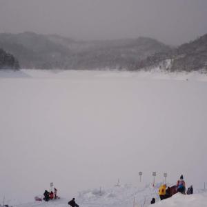 桂沢湖【ワカサギ】…その4