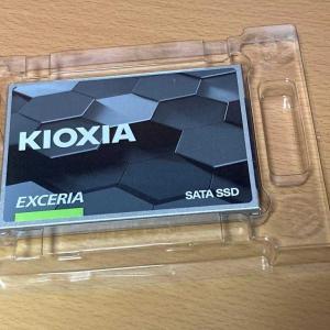 2021/02/25 i7-2600KのデスクPCのSSDをキオクシア SSDに換装しました