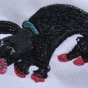 ブンちゃん刺繍2