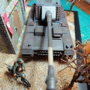 シュタール・エミール(VK3001(H)12.8cm自走砲)製作記ーその5(完結でいいの?でも、完結でございます。)