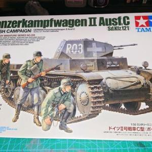Ⅱ号戦車(Sd.Kfz.121)その1