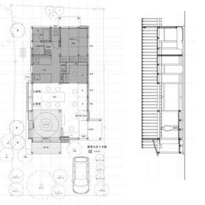 設計中 木造平屋建て住宅