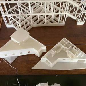 1/50架構モデルの3D出力