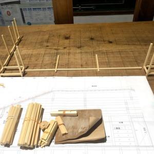 木造_赤瓦_模型