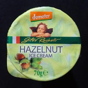 ジルド・ラケーリ オーガニックジェラート ヘーゼルナッツアイスクリーム