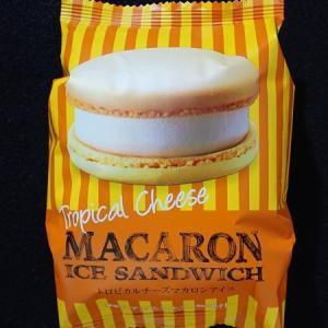 トロピカルチーズマカロン アイス