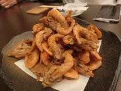 魚貝類中心のお料理とともに・・・