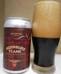 BLACK TIDE BREWING<MIDNIGHT FLAME(DARK CHERRY STOUT)>