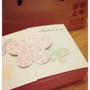 EGAO SWEETSのクッキー