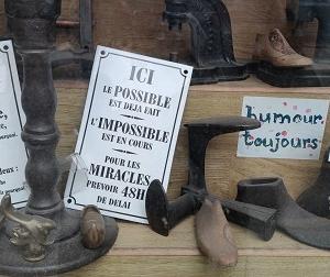 靴修理屋さんの話