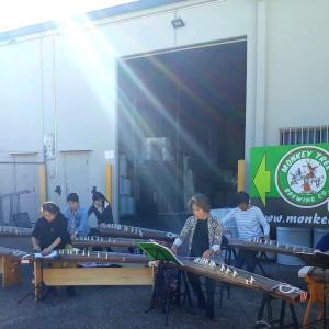 箏スクールコンサートの練習