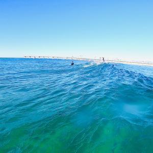 久しぶりの海は綺麗だった
