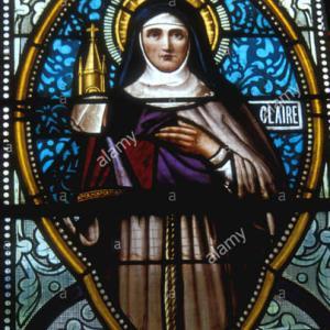 【再掲】聖女クララ 名前はクララ、すなわち「輝いている」であった。その生涯は、より輝いていた。その聖徳は、最高に輝いていた(トマス・チェラーノ)