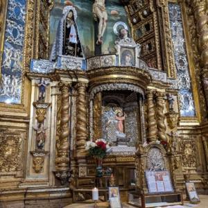エクアドルのキトにあるフランシスコ会のカントゥーニャの聖堂 Capilla de Cantuña