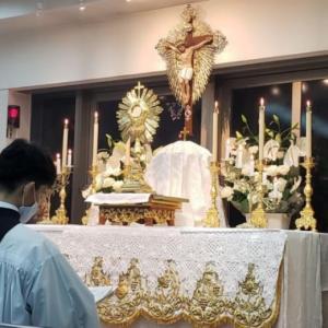 【聖体のモデル】聖体はわが伴侶である