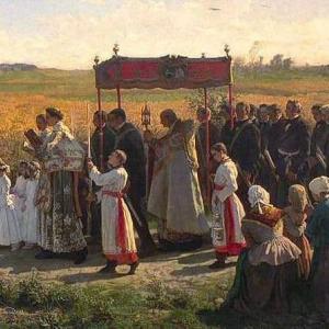 """""""これが本当の宗教です。カトリックの最高の宝、御聖体こそ賛美せられさせたまえ"""" 御聖体の荘厳祭説教 Sermon for 2nd Sunday after Pentecost 2020"""