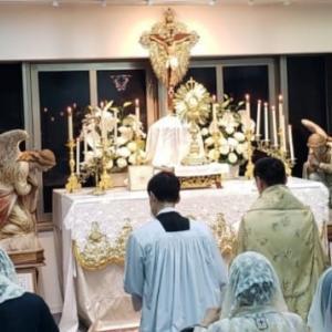 【聖体の黙想】聖体降福式はご受難に対する最善の償いてある
