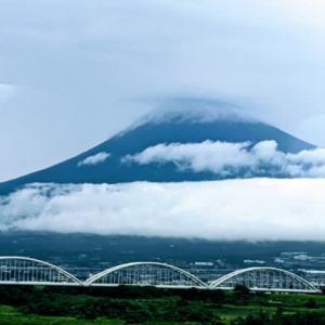 今日の富士山です