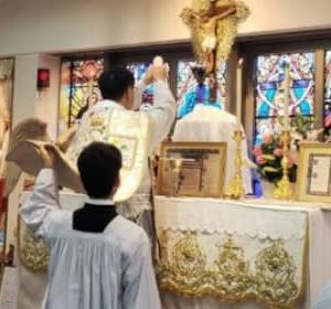 2020年7月11日 大阪での聖伝のミサと聖体降福式