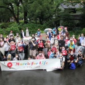 東京でのマーチフォーライフの写真