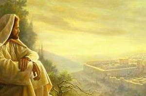 主はエルサレムをご覧になり泣かれました。エルサレムの崩壊を思って。それは、私たちにも起こりうることです。私たちが生きている時代が、どのような時なのか、将来私たちに何が迫っているのかを知ってください。