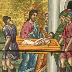 ナイムの寡婦の一人息子を復活させたイエズス様の様子を見ると私たちには2つの事が分かる