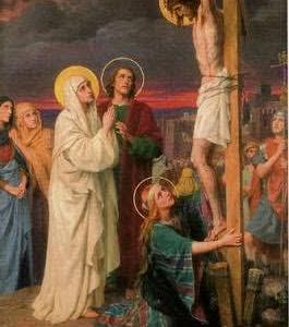 天主の正義を宥める唯一の方法は、ミサ聖祭。天主の聖子が流される血を、聖父に捧げて、代わりに罪の償いとして、宥めの血を御捧げすること
