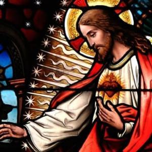 「この聖心を見よ」聖心の御影こそイエズスの全てを表しています。いまこそ私たちは聖心の祝福を受け入れなければなりません!