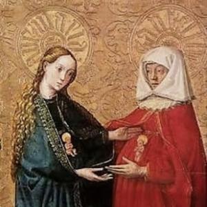 聖母が天主の御母となって一番最初になさった事は、老婆エリザベトの手伝うという愛徳の業だった