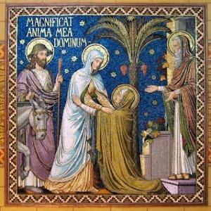 マニフィカト:私の霊魂は主を讃美し、主を偉大なるものと致します。私の精神は、その主に喜び踊る。