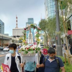 2021年東京のマーチフォーライフにはカトリック司祭が三名参加しました。