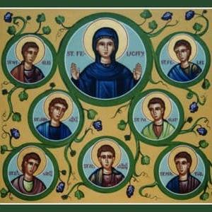 2019年7月10日(水)聖なる七兄弟殉教者及び、童貞殉教者聖ルフィナと聖セコンダのミサ