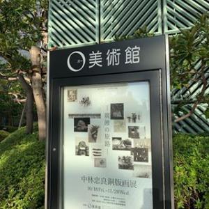 中林忠良銅版画展 -腐蝕の旅路-(於:O美術館 品川大崎)