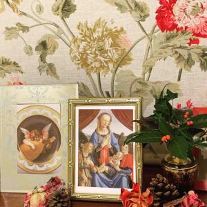 Verrocchio ヴェロッキオ展のカード ロッソ・フィオレンティーノ Rosso Fiorentino