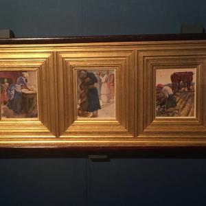 <ラファエル前派の軌跡>展:Parabpla of Pre-Raphaeltism, Italy: A Poem Samuel Rogers Tuner Ruskin Rossetti Burne-Jones & Morris (於:三菱一号館美術館 丸の内)