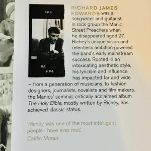"""""""Withdrawn Traces"""" Searching for the truth about Richey Manic ( Richey Edwards's personal archive)"""