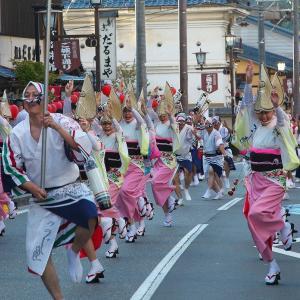 高遠城下街まつり~阿波踊り(2019年09月07日 土 ☀ EOS5DⅣ)