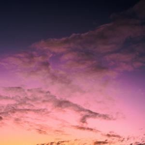 紫色の空ってあるんだよ
