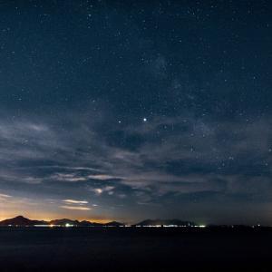 ペルセウス座流星群は撮れなかったけど