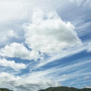 昼間の空が撮れる^^