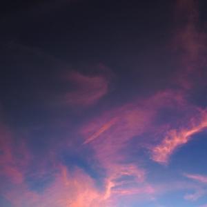 優しい夕空