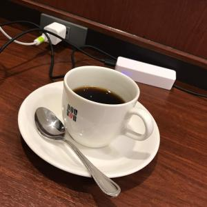ドトールコーヒーで、ふっと物思いにふける