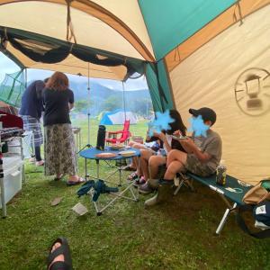 初キャンプ♡