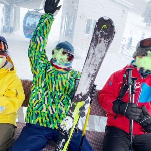 今年もスキーの季節がやってきました!1日目2日目