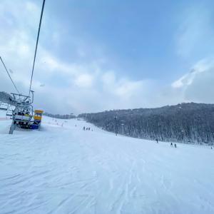 3回目のスキー